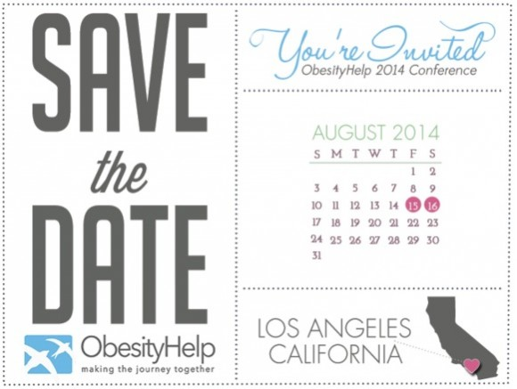 Save The Date for ObesityHelp Annual National Conference 2014